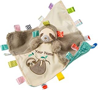 personalized baby taggie blankets