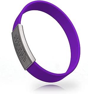 Best purple silicone bracelets Reviews