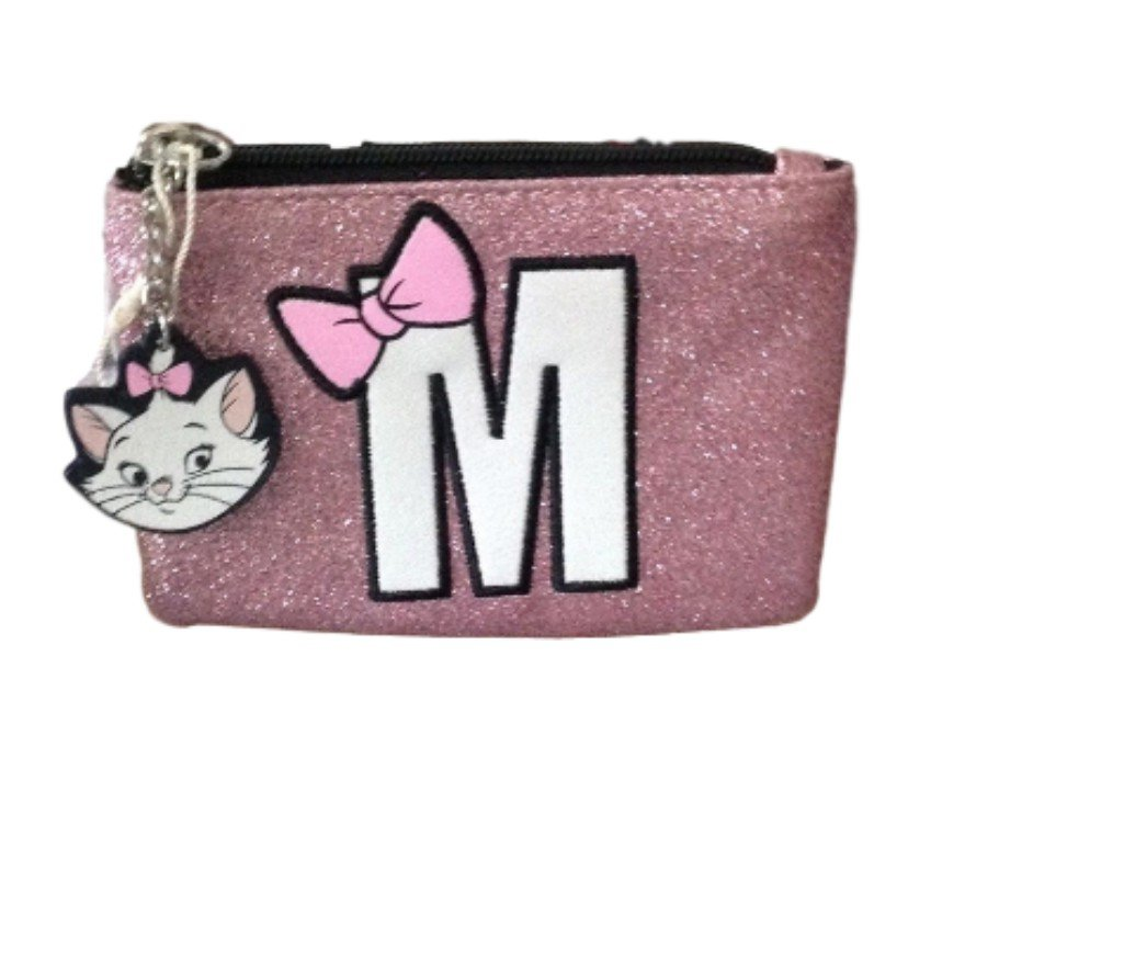 Disney Marie The Cat Small Pink Card Holder 10cm X 8cm