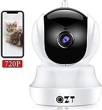 Monitor de beb/é con visi/ón Nocturna C/ámara IP WiFi 1080p HD C/ámara de vigilancia de Seguridad inal/ámbrica EU Audio bidireccional para Mascotas//Hogar//Interiores