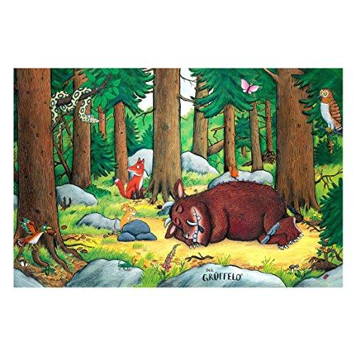 Der Grüffelo - Kindertapete - Grüffelo - Nickerchen im Wald 255 x 384cm