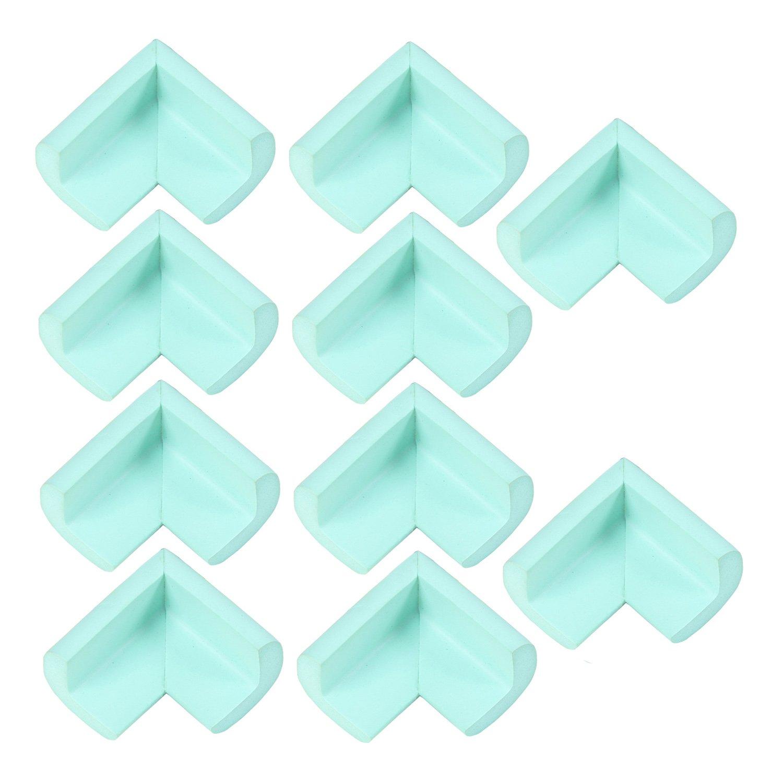10 片柔性橡胶直角角面板纸板底板相框 薄荷绿