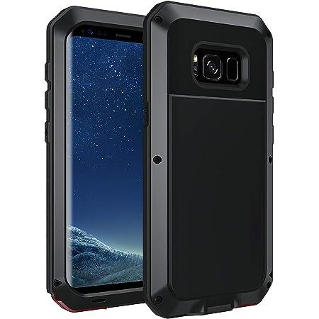 seacosmo Coque Samsung S8, Coque Galaxy S8, Antichoc Heavy Duty Metal Etui [Tough Armour] Robuste Rhinoshield Housse Anti-Fine Protection d'Armure ...