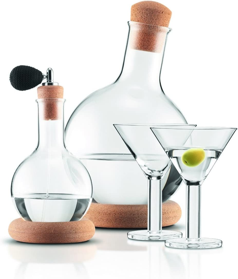 Bodum k11799-109Vodka Limited Special Price Martini New mail order Set with Transpare 2Glass