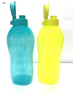 Tupperware 2Liter Water Bottles Fliptop, cool water dispenser Set of 2