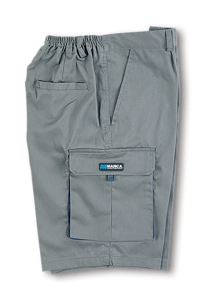 Marca TOP - Bermuda algodon talla 46-48 gris: Amazon.es: Bricolaje y herramientas
