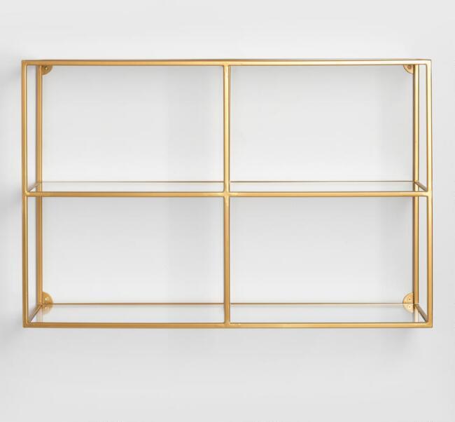 Adler Glass Wall Shelf | World Market