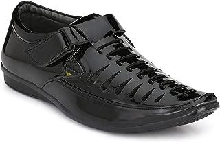 BUCADIA Men Fashion Outdoor Formal Casual Ethnic Loafer Slip-On Sandal Shoe