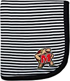 Creative Knitwear University of Maryland Terps Striped Baby and Toddler Blanket