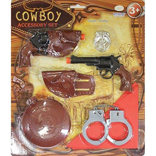 Amscan - 997577 - Set d'accessoires - Cowboy - Garçon - 3-6 Ans