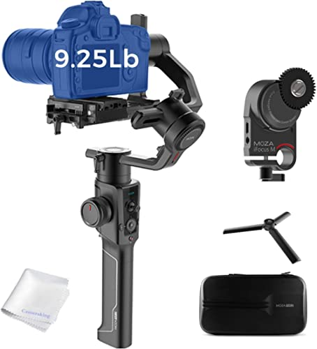 MOZA Air 2 Gimbal with iFocusM Motor 3-Axis Handheld Stabilizer 8 Follow Modes for DSLRs Mirrorless Cinema Cameras 9L...