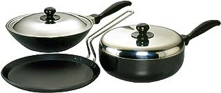 Hawkins Futura Non-Stick Cookware Set, 3 Pieces (QS4)