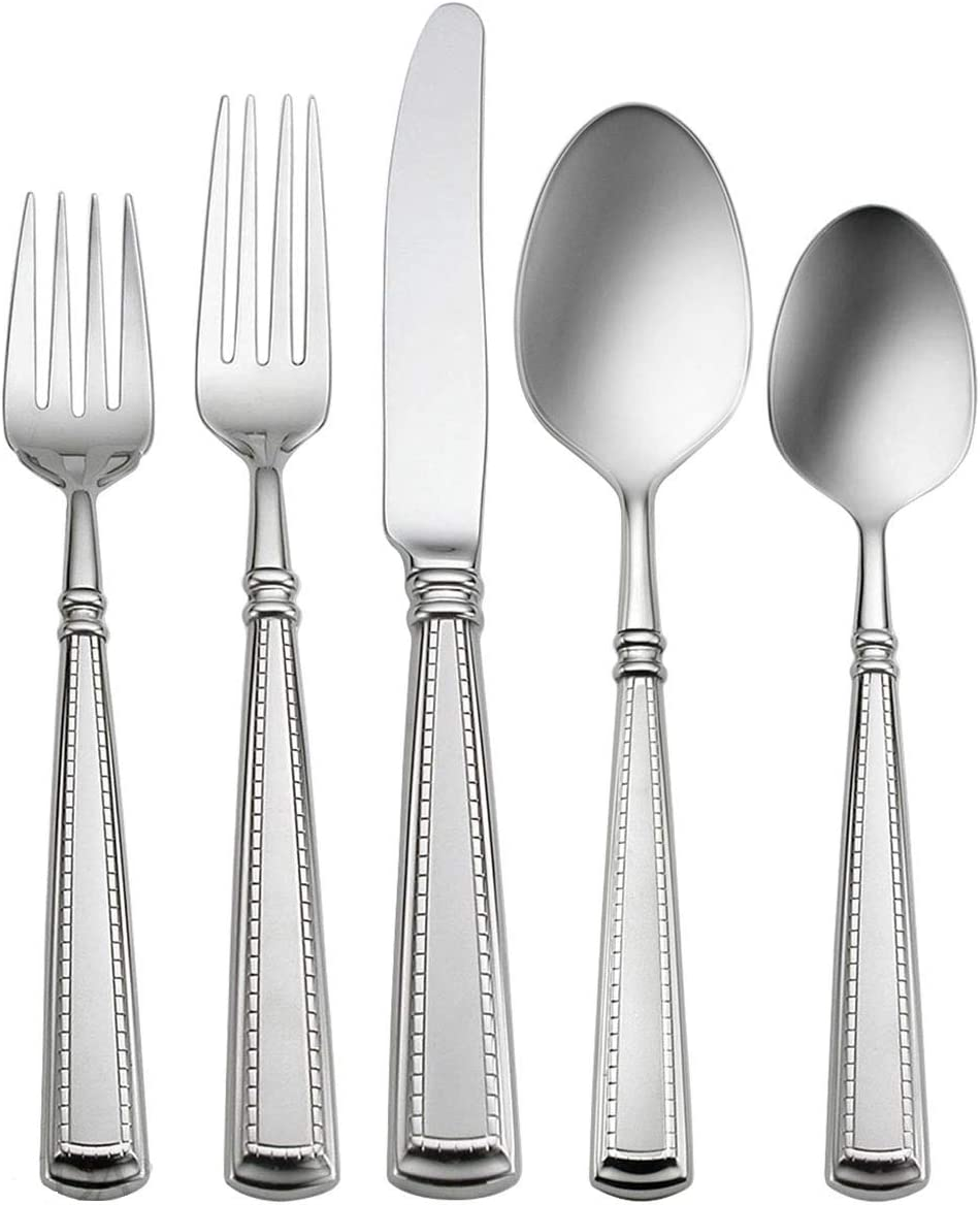 Oneida Couplet NEW before selling ☆ 5-Piece Flatware Service Direct store Set 1 for