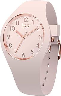 ICE-WATCH ICE Glam Colour Nude - Reloj Rosa para Mujer con Correa de Silicona, 015330 (Small)