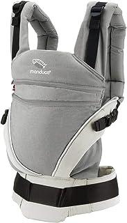 manduca XT Mochila Portabebe > Cotton grey/white &