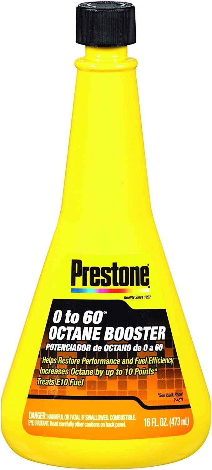 Prestone Superlatite AS740-12PK Selling and selling 0-60 Octane Booster - 12 Pack 16 of oz