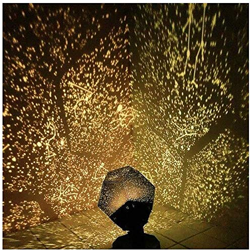 HAZUN 60,000 estrellas Original Home Planetarium caronan - lámpara de proyector starry sky - lámpara de noche romántica star proyector lámpara de noche starry sky