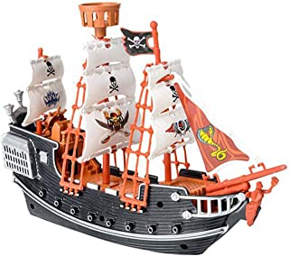 Kicko Pirate Ship Toy for Gifts, Decor, Imaginary Play, and Prizes - 10 Inches, 1 Pack