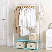 Chen Clotheshorse Dormitorio de interior Simple Modern Hangers Doble capa Poner cosas Tipo de piso Racks de secado