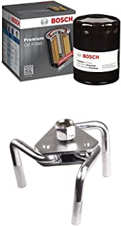 Bosch 3421 Premium Oil Filter with OTC Oil Filter Wrench