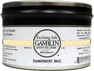 Etching Ink Color: Transparent Base