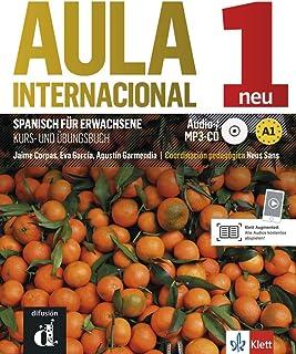 Aula internacional nueva edición 1: Kurs- und Übungsbuch + MP3-CD dt. Ausgabe: Nueva edición. Kurs- und Übungsbuch + MP3-CD