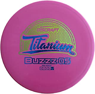Discraft Titanium Buzzz OS Midrange Golf Disc [Colors May Vary]