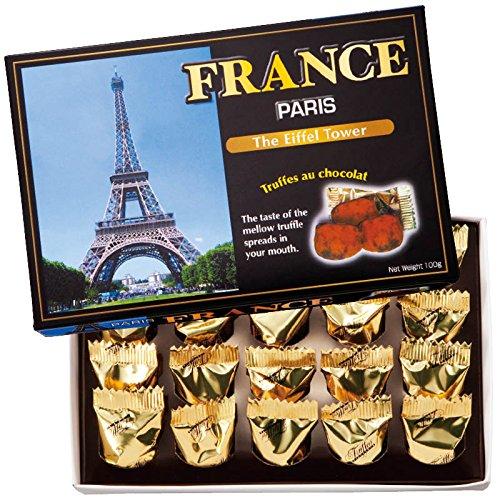 フランス 土産 フランス チョコトリュフ(袋付) 1箱 (海外旅行 フランス お土産)