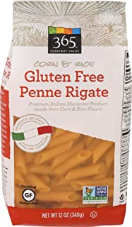 365 Everyday Value, Corn & Rice Gluten Free Penne Rigate, 12 oz