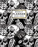 2020-2021 Weekly Planner: Pretty Death Skull Two Year Weekly Agenda, Diary & Planner - Nifty Cactus 2 Year Organizer with To-Do's, Holidays, Inspirational Quotes, Vision Board & Notes