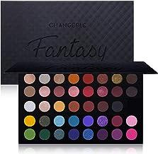 CHANGEABLE Pro 39 Colors Eyeshadow Palette مات Shimmer Make Up Eyeshadow Palette برجسته رنگدانه پودر سایه چشم طبیعی صورتی رنگ سیاه و سفید طولانی ضد آب آرایشی پالت آرایشی