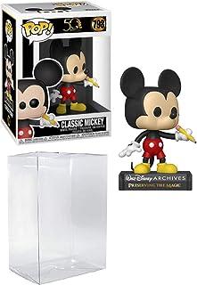 Figura de vinilo clásica de Mickey Pop #798 Disney Archives (con protector EcoTek para proteger la caja de presentación)