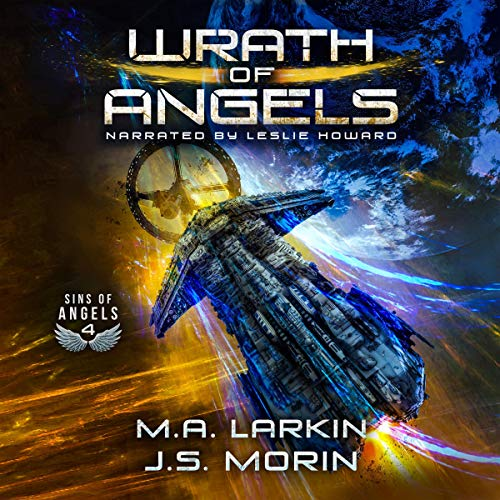 Wrath of Angels audiobook cover art