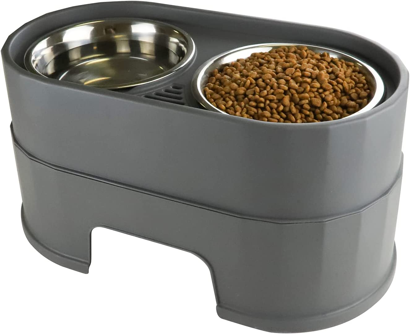 RIZZARI Raised Dog Ranking TOP13 Bowls Stainless Steel Pet a Trust Cat Dish Food