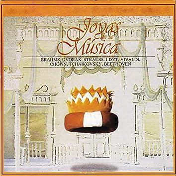 Joyas de la Música, Brahms, Dvorak, Strauss, Liszt, Vivaldi, Chopin, Tchaikovsky, Beethoven