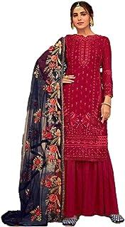 Women Designer Salwar Suit | Dress Material Unstitched | Ladies Salwar Kameez Heavy Dupatta | Ethnic Indian Pakistani Part...