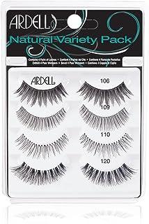 "Ardell""Best of"" Natural Variety Pack of False Eyelashes, 4 Pairs of Natural Fake Eyelashes"