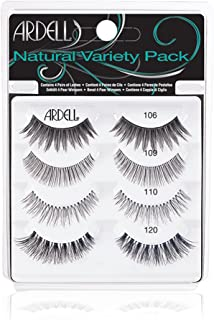 "Ardell""Best of"" Natural Variety Pack of False Eyelashes, 4 Pairs of Natural Fake Eyelashes"