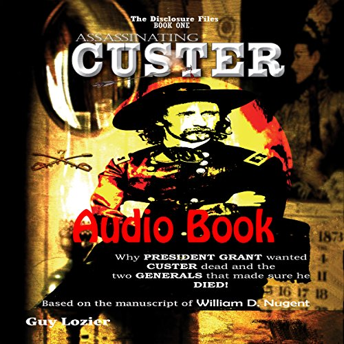 Assassinating Custer audiobook cover art