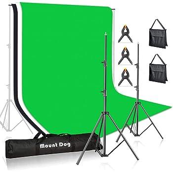 Background GZHENH Photo Backdrop Adjustable Muslin Studio Telescopic Design Portable Portrait Shooting Color : Black, Size : 200x200cm 2 Sizes 8 Colors