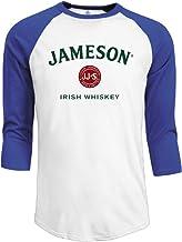 Men's Jameson Irish Whiskey Logo 3/4 Sleeve Raglan T-shirt