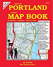 كتاب خريطة شارع بورتلاند أكبر، أوريغون