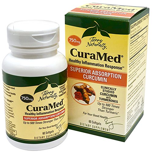 Terry Naturally CuraMed 750 mg - 60 Softgels -...