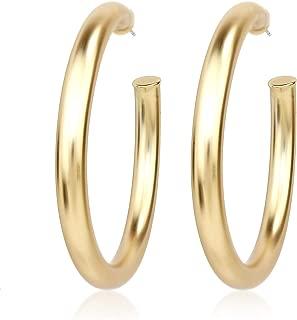 Best matte hoop earrings Reviews