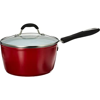 Amazon Com Cuisinart 3 Qt Saucepan W Cover Slate Blue 3 Quart Kitchen Dining