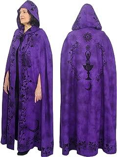 Ritual Cotton Cloak Moon Goddess Purple