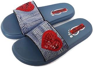 NEW AMERICAN Women Denim Slippers