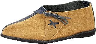 Sapato Caíques de couro e solado de pneu de avião reaproveitado
