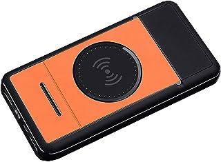 DNGDD 10 000 mah powerbank hopfällbar bärbar justerbar stativ, powerbank hög kapacitet externt batteri (3 delar), orange