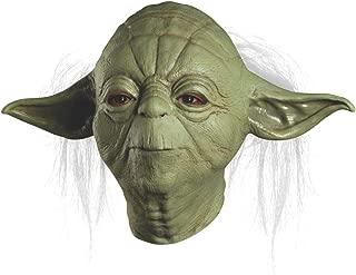 STAR WARS Master Yoda Deluxe Adult Overhead Latex Mask